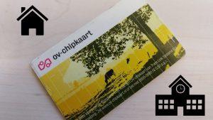 ov chipkaart huis-schoolinstelling